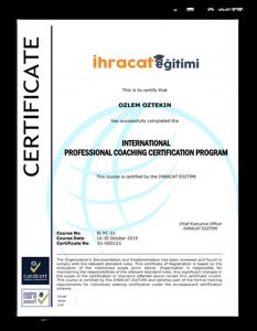 sertifika örneği
